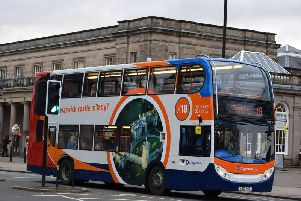 Stagecoach has announced that it will be shaking up their fares across the county. Photo supplied by Stagecoach.