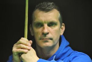Mark Davis lost 10-7 to John Higgins in round one of the Betfred World Snooker Championship