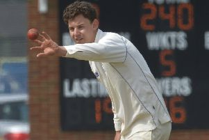 Eddie Lemmon took four wickets for Bexhill in their defeat away to Crawley Eagles. Picture courtesy Jon Rigby