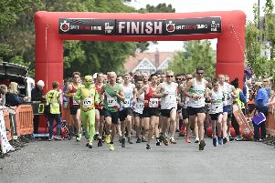 It's race day at the Bognor Prom 10k / Picture by Liz Pearce