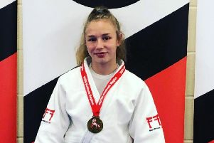 Rush Judo's Nicole Wood won a gold medal at the Northern Regional England development competition.