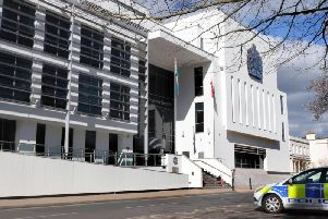 The Justice Centre in Leamington which houses Warwick Crown Court.