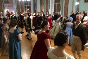 Warwick Christmas Regency Ball 2018. Photo by Unlocking Warwick.