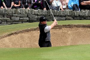 England's Eddie Pepperell during day two of the 2019 Dubai Duty Free Irish Open at Lahinch Golf Club.