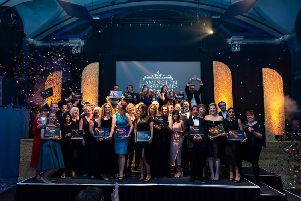 Celebrations from last year's award ceremony.