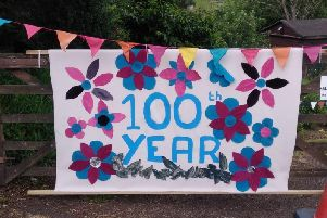Anniversary celebrations at Odibourne Allotments