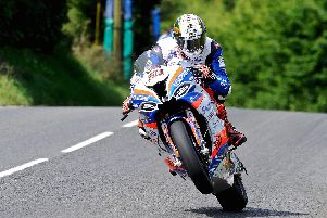 Peter Hickman dipped under the lap record to take Superbike pole at the Ulster Grand Prix.