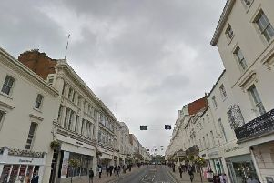 The Parade in Leamington. Photo by Google Street View.