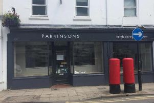 The former Parkinsons store in Regent Street which will become home to Seasalt.