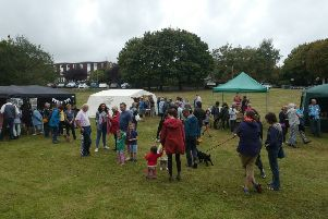Steyning Community Orchard had a new venue for its fifth annual Apple Day and welcomed a record turnout
