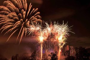 The Bonfire Night fireworks event hosted by the Kenilworth Round Table.