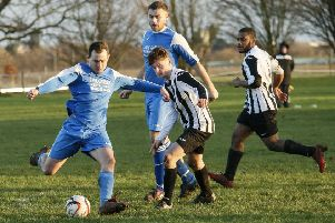 Caldecote Res v Black Swan Luton. Picture: David Kay.