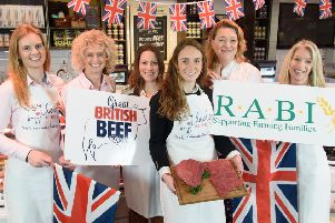 Ladies in Beef and R.A.B.I launch Great British Beef Week April 1 - 7 2019