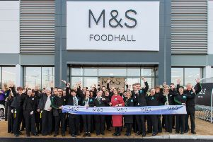 M&S is now open!