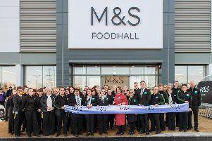 M&S opening