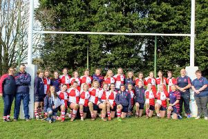 Warwickshire Under 15s at Webb Ellis Road at the weekend. Picture by Elana-Rose Fereday