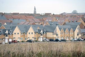 Leighton Buzzard Sandhills housing estate.