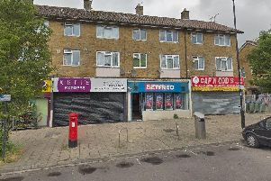 The Betfred branch in Aldermoor Road, Southampton, that was targeted by a knife-wielding attempted robber. Picture: Google Street View