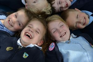 Pupils at Warnham Primary School are celebrating after their school was rated 'Good' by Ofsted SUS-190326-115309001