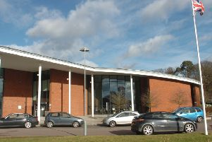 Central Beds Council's offices at Chicksands