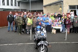 Buzzard Scooter Club Easter Egg Toy Run 2018
