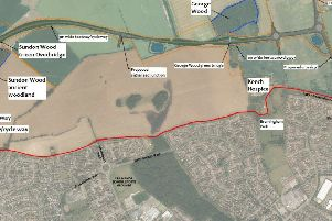 Map of the proposed route