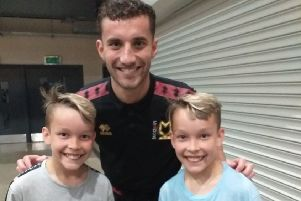 Ronnie and Richie with Baily Cargill