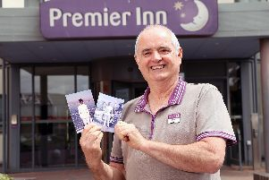 Steve Douglas, a former sailor with the Royal Navy and now maintenance manager at Premier Inn Portsmouth 'Picture: Adam Fradgley