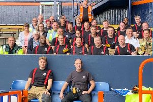 Firefighters tackle simulated fire at Luton Town Football Club PNL-190715-141609001