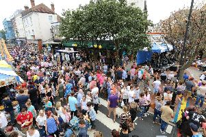 The Southsea Food Festival in Palmerston Road is returning this weekend