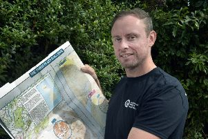 Laurence Hearn is taking part in the three peaks challenge in September in aid of the Huntingdons Association charity (Photo by Jon Rigby) SUS-190822-094124008