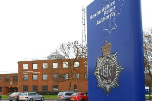Beds Police headquarters at Kempston