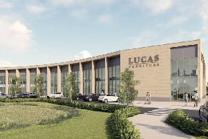 Lucas Furniture announce work beginning on new Aylesbury Store