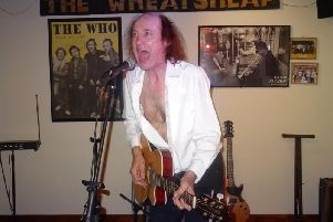 John Otway at the Wheatsheaf earlier this month