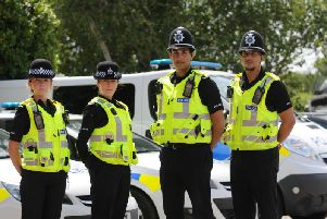 Bedfordshire Police recruitment drive