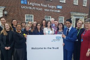 A new partnership for Leighton Road Surgery