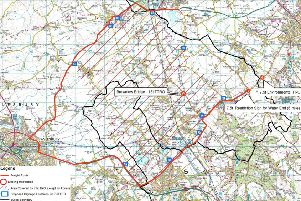 Ivinghoe Freight Zone map