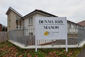 Dunmurry Manor on the Outskirts of Belfast. 'Photo by Colm Lenaghan/ Pacemaker Press