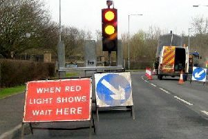 Roadworks. (Archive pic)