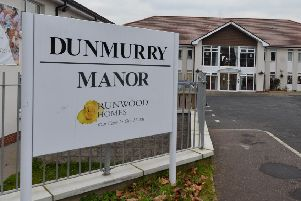 Dunmurry Manor care home.