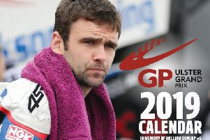 The Ulster Grand Prix has commissioned a special calendar in tribute to William Dunlop, which will go on sale on Friday.