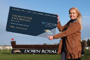 Emma Meehan, chief executive of Down Royal Racecourse, announces free entry for racegoers on Tuesday, January 29.