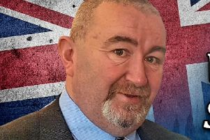 Brian Higginson, NI Branch Organiser for the Union & Sovereignty Party
