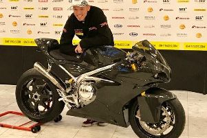 Peter Hickman with the new Norton Motorcycles Superlight EMN-190320-164102002