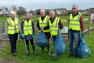 Ferring Conservation Group cleaned up the Rife