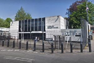 Lisburn Courthouse. Pic by Google