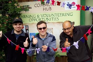 Volunteers at the Eco Centre in Skegness. ANL-190606-093459001