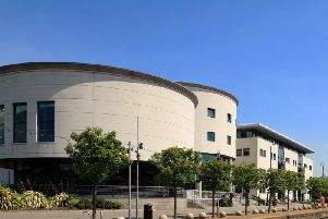 Lagan Valley Island Civic Centre, Lisburn.