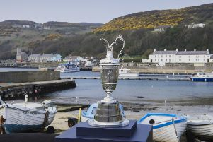 The Claret Jug on Rathlin
