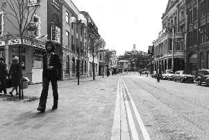 Guildhall Walk in July 1977
